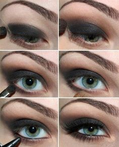 Beautiful smoky eye