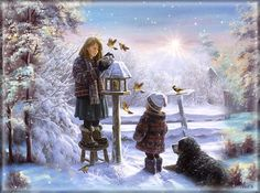 de - Guestbook by - dreamies.de – Guestbook by - Christmas Scenes, Christmas Love, Christmas Pictures, Winter Christmas, Winter Szenen, I Love Winter, Gifs, Foto Gift, Beautiful Gif