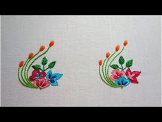 different kinds of hand embroidery stitches Simple Hand Embroidery Patterns, Hand Embroidery Videos, Hand Embroidery Flowers, Hand Work Embroidery, Flower Embroidery Designs, Hand Embroidery Stitches, Embroidery Techniques, Machine Embroidery Designs, Geometric Embroidery