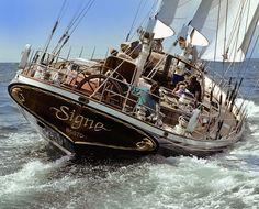 SIGNE. A wonderful classic sailingyacht