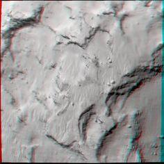 Το σημείο «J», η περιοχή προσεδάφισης του Philae σε 3D – Όμιλος Φίλων Αστρονομίας
