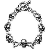 Stainless Steel Skulls Bracelet these are maintenance free, just wear them & go!!! $38