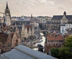 Ghent Belgium. One of the most beautiful cities in Europe!