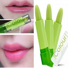 Cheap Green Magic Color Changing Lipstick Lip Makeup Long Lasting Cosmetic is recommanded by customers, it's totally worth buying. Color Changing Lipstick, Crayon Lipstick, Green Magic, Lip Makeup, Cosmetics, Accessories, Make Up, Makeup Lips, Jewelry Accessories