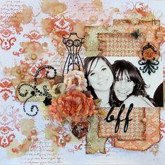 """'BFF"""" (Designed with C'est Magnifique's September Kit) - Scrapbook.com"""