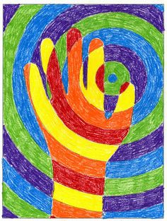 "Art Projects for Kids: I've joined Teachers Pay Teachers, which is an exciting new open marketplace. I'll be gradually adding many of my products to their site, but for starters, I've uploaded a new and improved ""Warm Hands"" template."