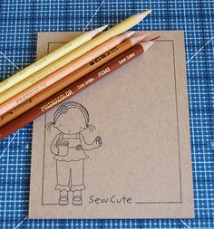 MFT Academy: Coloring On Kraft with Prismacolor Premier Pencils | My Favorite Things