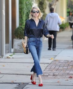 Shoe Daydreams: Doing Denim DIYs - Crop Step and Crop Fray