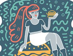 "Check out new work on my @Behance portfolio: ""BURGERBABE"" http://on.be.net/1hFITBb"