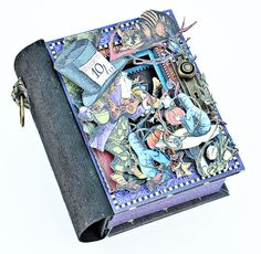 Scrappin For Me: Graphic 45 - Altered Book Box