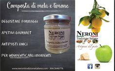 Composta di mela e limone... #neronitradizioneitaliana #ciboitaliano #sughipronti #creme #patè #composte #madeinitaly #contolavorazione #salsabbq