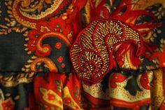 Shahirizade. Silk dress-tunic for 5 yars by SecretSecretGarden