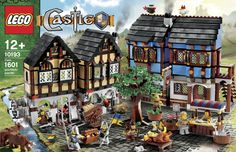 Amazon.com: LEGO Castle Medieval Market Village (10193): Lego Castle: Toys & Games