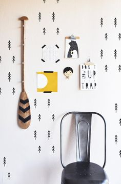 Stick Trees  - WALL DECAL
