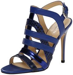 Ivanka Trump Women's Haslets Dress Sandal, Blue, 6 M US IVANKA TRUMP http://www.amazon.com/dp/B00TMAHOKI/ref=cm_sw_r_pi_dp_sblHwb1MP0XH0