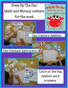 Golden Gang Kindergarten: Down By The Sea Centers
