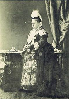 Queen Victoria of Britain. She inherited the throne at the age of after her father's three elder brothers had all died leaving no legitimate, surviving children. Victoria Queen Of England, Queen Victoria Family, Queen Victoria Prince Albert, Victoria And Albert, Princess Victoria, Reine Victoria, Victoria Reign, Elizabeth Ii, Royals