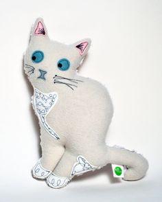 Snowflake Kitty Plush