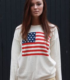 Obsessed with American Flag prints lately!