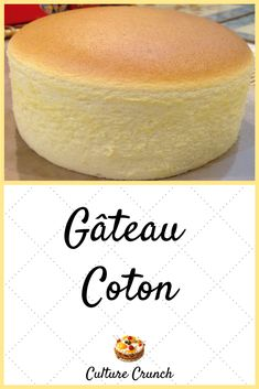 Easy Cake Recipes, Easy Desserts, Sweet Recipes, Cotton Cake, Desserts With Biscuits, Angel Cake, Cake & Co, Weird Food, Food Test