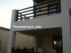 Balustrade din lemn pentru exterior  02 Gate, Flat Screen, Exterior, Home Decor, Balcony, Blood Plasma, Decoration Home, Portal, Room Decor