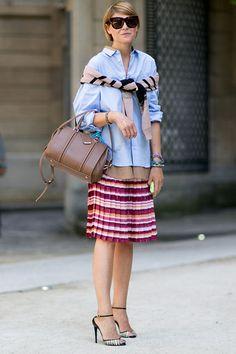 Outfit-Inspirationen für jeden Tag! Jetzt auf on.elle.de/1KGPgQh