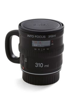 Pour and Shoot Mug - Black, Quirky, Dorm Decor, Urban, Best Seller, Best Seller, Top Rated