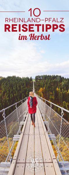 Reisetipps für deinen Rheinland-Pfalz Roadtrip im Herbst! Inklusive Burg Eltz, Geierlay Hängebrücke, Bernkastel-Kues und Koblenz