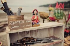 Peter Pan Captain Hook Boy Girl Beach Birthday Party Planning Ideas by PFR