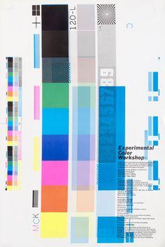 Experimental Color Workshop by Peter Gee (1970) | Shop original vintage posters online: www.internationalposter.com
