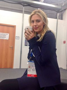 Maria's Twitter: About to get on the @TODAY #Sochi2014 #tunein