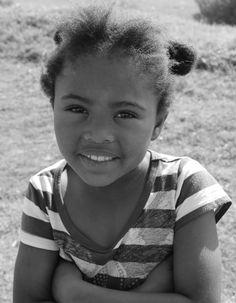 South Africa - Port Elizabeth - Bloemendal - Township - lovely child