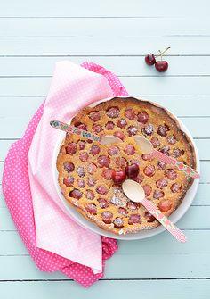 ¡Qué cosa tan dulce!: Clafoutis de cerezas
