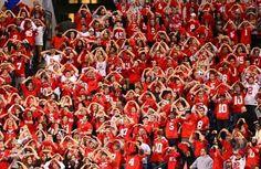 Ohio State Football Fans ... #BuckeyeNation