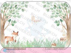Ein Aukleber für deine Yumbox - Personalisiert mit deinem Namen. Internationaler Versand  ---  A sticker for your Yumbox - Personalized with your name. International Shipping Cover, Sticker, Etsy, Madness, Woodland Creatures, Names, Kids, Stickers, Decal