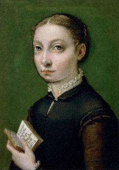 Sofonisba Anguissola · Sofonisba Anguissola virgo se ipsam fecit · 1554 · Kunsthistorisches Museum · Wien