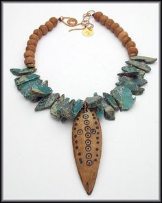 NIGER  Ethopian Shaman's Spear  Imperial by sandrawebsterjewelry, $200.00 SOLD