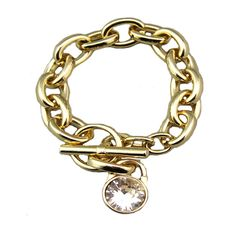 Michael Kors Enamel Toggle Golden Bracelets Hot Sale Online With High Quality, Big Discount And Fast Delivery. #WhatsInYourKors #WhatSheWants