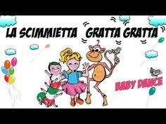 LA SCIMMIETTA GRATTA GRATTA - Canzoni per bambini e bimbi piccoli - baby music cartoon - YouTube