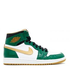 79b2e4780a0 Air Jordan 1 Retro High Og Svsm Clover Metallic Gold White Blk 555088 315