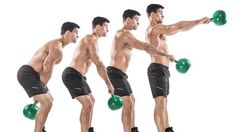 Build serious strength and improve overall conditioning with this five-week kettlebell workout courtesy of Pavel Tsatsouline. For More Health And Fitness Tips Visit Our Website Kettlebell Training, Best Kettlebell Exercises, Kettlebell Challenge, Kettlebell Swings, Workout Kettlebell, Abs Workout Video, Abs Workout Routines, Abs Workout For Women, Gym Workouts