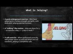 What is jelqing? Can it help increase the size of your penis?