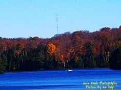 Autumn on Duck lake Orrville Ontario