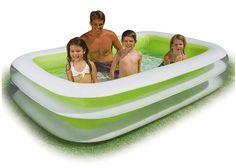 Kiddie Pool Play Center Blow Up Inflatable Pools Adult Backyard Water Lounge #Intex