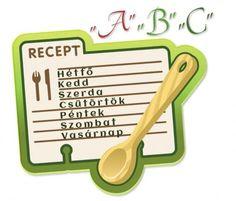 "Egy havi ""A"" menük listája Measuring Spoons"