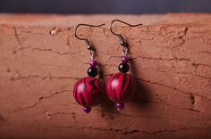 earrings. handmade
