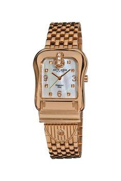 Akribos XXIV Women s Quartz Base Metal Watch f3562453a552