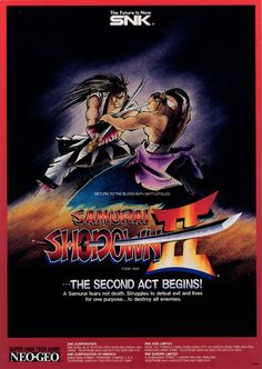 Manuals & Guides 1994 Neo Geo Mvs Samurai Shodown Ii Artworks