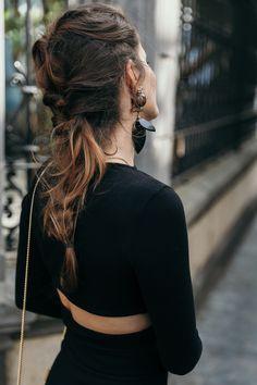 Top con detalle de lazo en la espalda de ASOS | Jessie Chanes - Seams for a Desire
