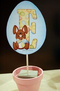My Little Party Blog: DIY: Decoración Fiesta de Pascua